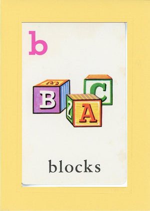 B is for blocks - PLYMOUTH CARD COMPANY  - 3