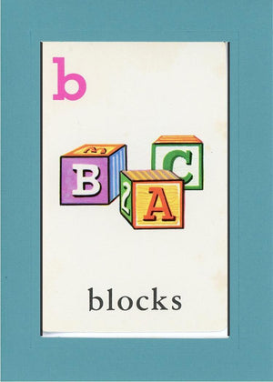 B is for blocks - PLYMOUTH CARD COMPANY  - 11