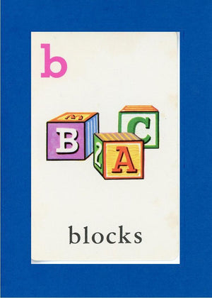 B is for blocks - PLYMOUTH CARD COMPANY  - 4