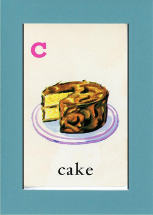 C is for Cake - PLYMOUTH CARD COMPANY  - 12