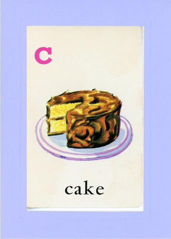 C is for Cake - PLYMOUTH CARD COMPANY  - 18