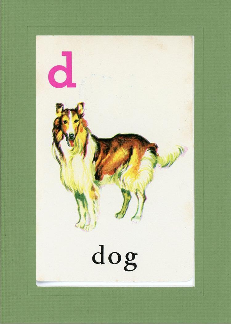 D is for Dog - PLYMOUTH CARD COMPANY  - 9