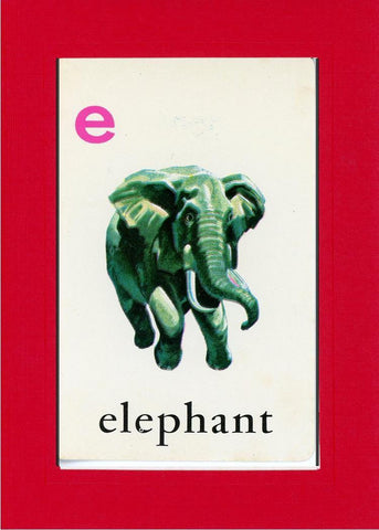 E is for Elephant - PLYMOUTH CARD COMPANY  - 6