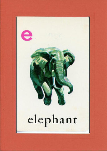 E is for Elephant - PLYMOUTH CARD COMPANY  - 8