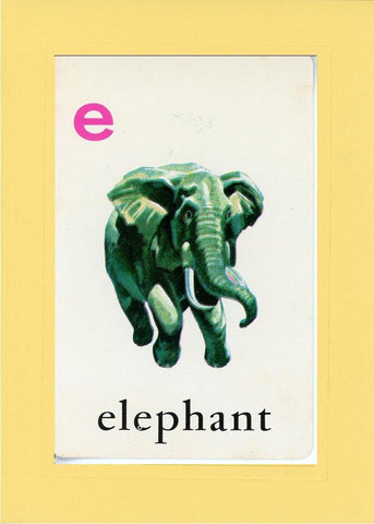 E is for Elephant - PLYMOUTH CARD COMPANY  - 3