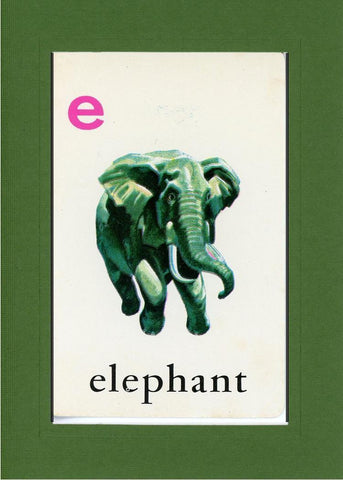 E is for Elephant - PLYMOUTH CARD COMPANY  - 10