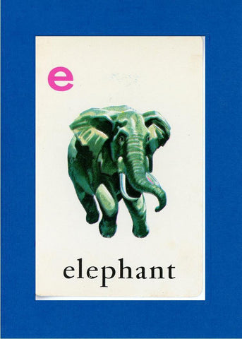E is for Elephant - PLYMOUTH CARD COMPANY  - 5
