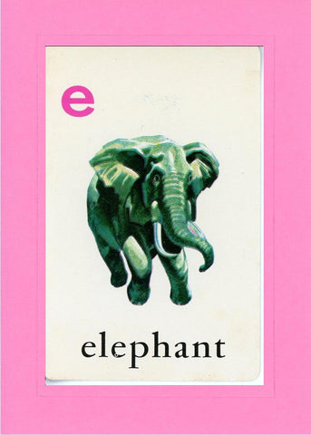 E is for Elephant - PLYMOUTH CARD COMPANY  - 4
