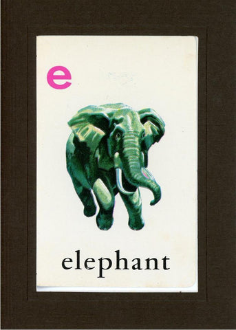 E is for Elephant - PLYMOUTH CARD COMPANY  - 14