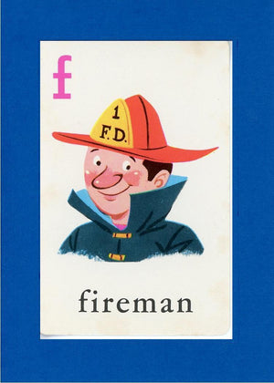 F is for Fireman - PLYMOUTH CARD COMPANY  - 6