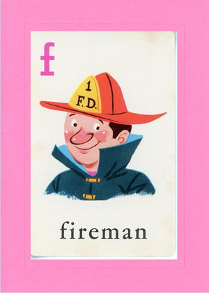 F is for Fireman - PLYMOUTH CARD COMPANY  - 5