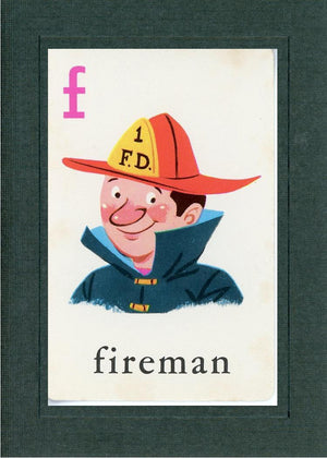 F is for Fireman - PLYMOUTH CARD COMPANY  - 3