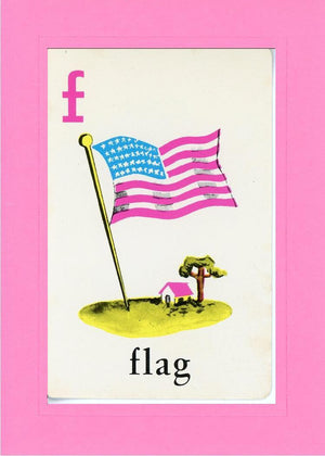 F is for Flag - PLYMOUTH CARD COMPANY  - 4