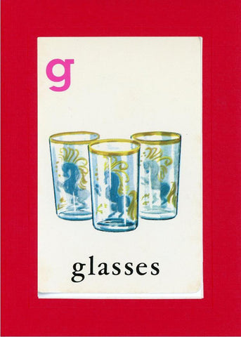 G is for Glasses - PLYMOUTH CARD COMPANY  - 3