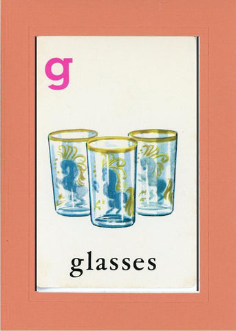 G is for Glasses - PLYMOUTH CARD COMPANY  - 10