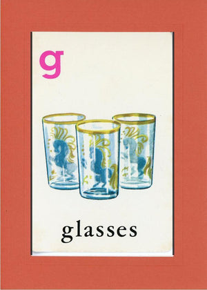 G is for Glasses - PLYMOUTH CARD COMPANY  - 7