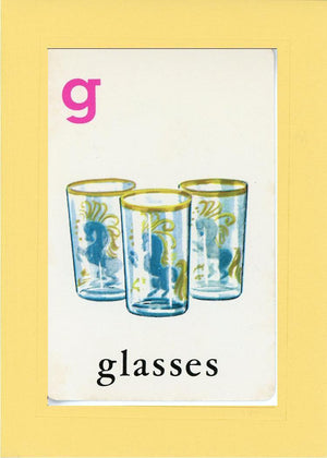 G is for Glasses - PLYMOUTH CARD COMPANY  - 2