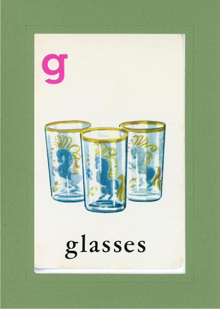 G is for Glasses - PLYMOUTH CARD COMPANY  - 6