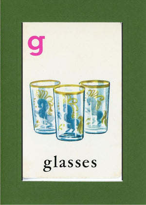 G is for Glasses - PLYMOUTH CARD COMPANY  - 8
