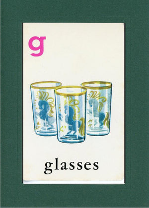 G is for Glasses - PLYMOUTH CARD COMPANY  - 9