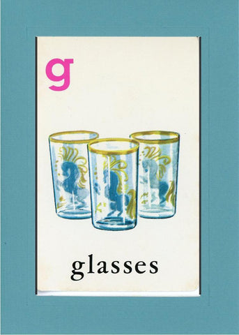 G is for Glasses - PLYMOUTH CARD COMPANY  - 11