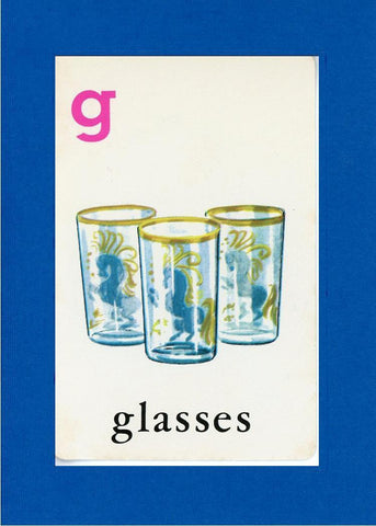 G is for Glasses - PLYMOUTH CARD COMPANY  - 5