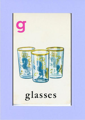 G is for Glasses - PLYMOUTH CARD COMPANY  - 18