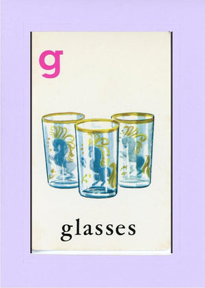 G is for Glasses - PLYMOUTH CARD COMPANY  - 14