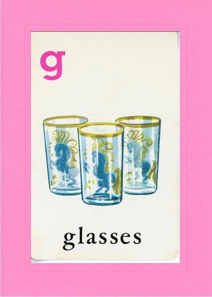 G is for Glasses - PLYMOUTH CARD COMPANY  - 4