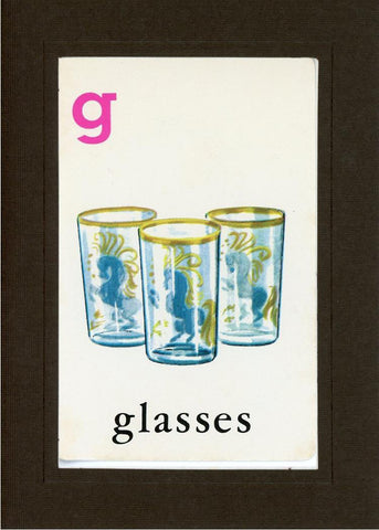 G is for Glasses - PLYMOUTH CARD COMPANY  - 12