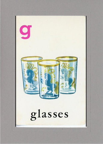 G is for Glasses - PLYMOUTH CARD COMPANY  - 13