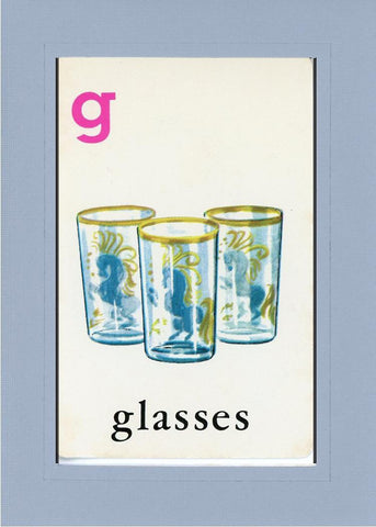 G is for Glasses - PLYMOUTH CARD COMPANY  - 15
