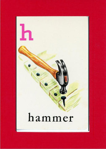 H is for Hammer - PLYMOUTH CARD COMPANY  - 6