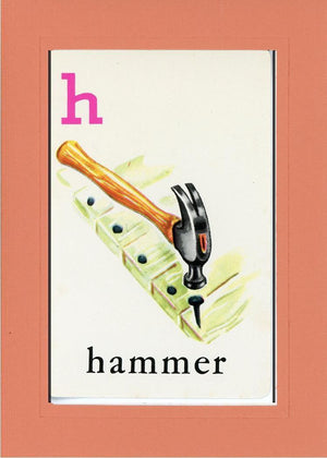 H is for Hammer - PLYMOUTH CARD COMPANY  - 7