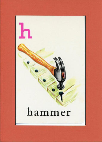 H is for Hammer - PLYMOUTH CARD COMPANY  - 8