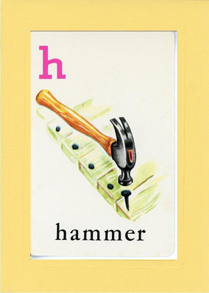 H is for Hammer - PLYMOUTH CARD COMPANY  - 3