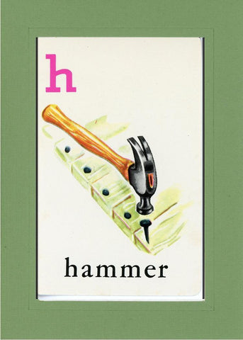 H is for Hammer - PLYMOUTH CARD COMPANY  - 9