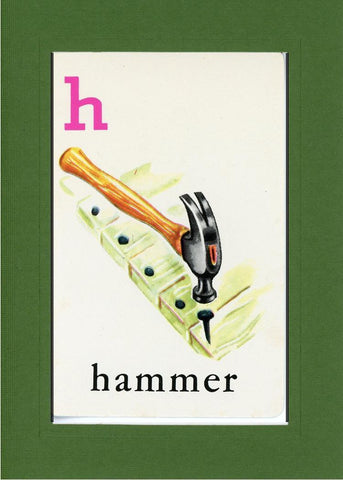 H is for Hammer - PLYMOUTH CARD COMPANY  - 10