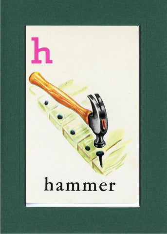 H is for Hammer - PLYMOUTH CARD COMPANY  - 11