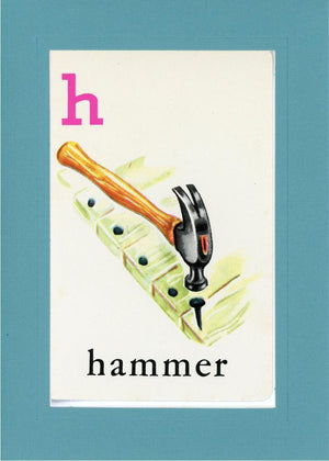 H is for Hammer - PLYMOUTH CARD COMPANY  - 12