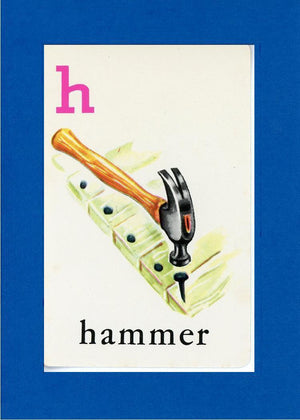 H is for Hammer - PLYMOUTH CARD COMPANY  - 5