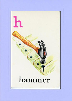 H is for Hammer - PLYMOUTH CARD COMPANY  - 19