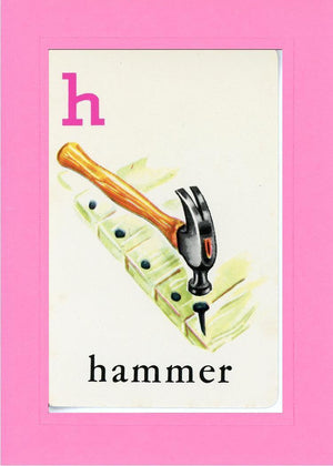 H is for Hammer - PLYMOUTH CARD COMPANY  - 4