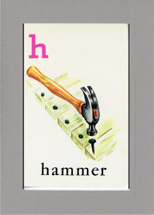 H is for Hammer - PLYMOUTH CARD COMPANY  - 14