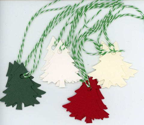 Christmas tree gift tags - PLYMOUTH CARD COMPANY  - 1