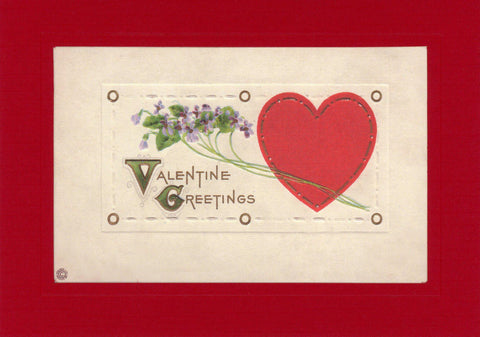 "Valentine ""Greetings from the Past"" Sampler - PLYMOUTH CARD COMPANY  - 2"