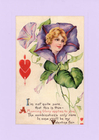 "Valentine ""Greetings from the Past"" Sampler - PLYMOUTH CARD COMPANY  - 4"