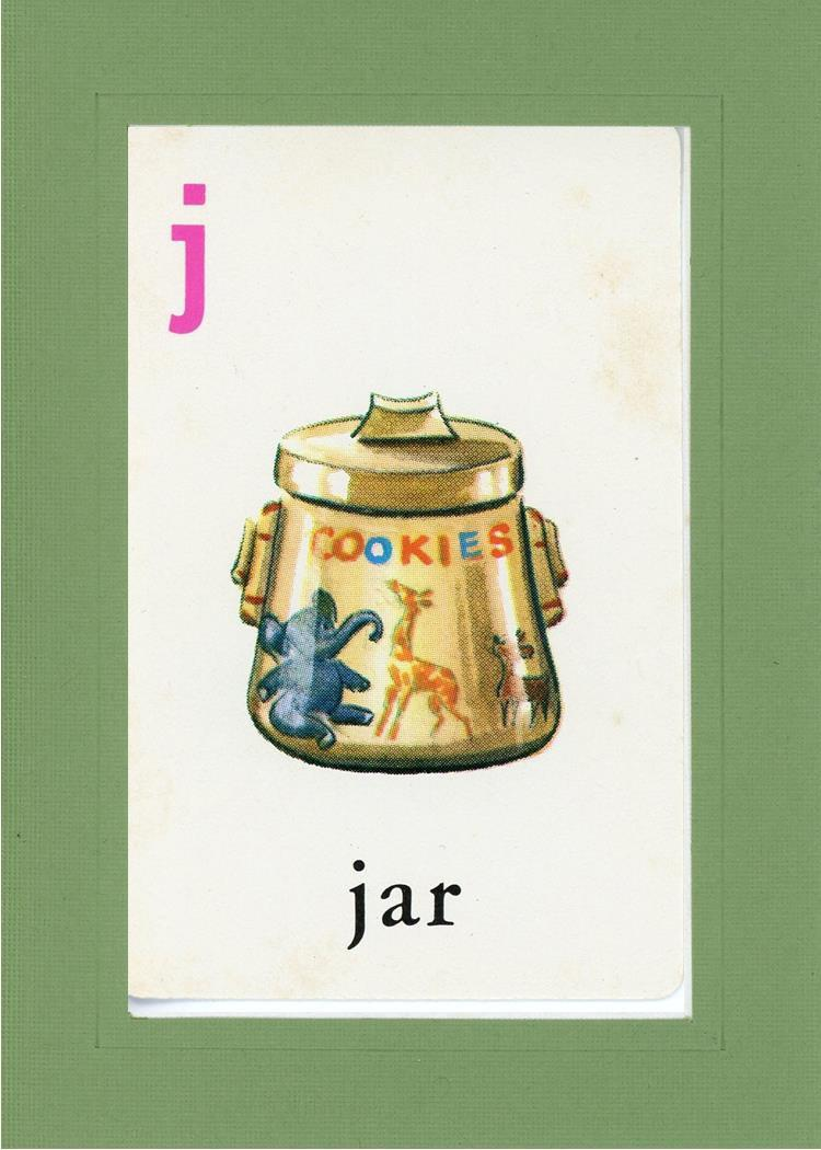 J is for Jar - PLYMOUTH CARD COMPANY  - 7