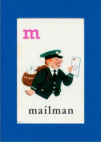 M is for Mailman - PLYMOUTH CARD COMPANY  - 5