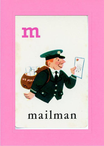 M is for Mailman - PLYMOUTH CARD COMPANY  - 4